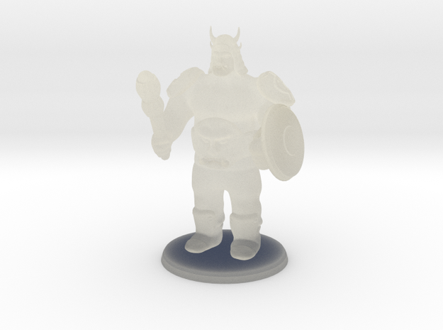 Ogre Boss in Transparent Acrylic