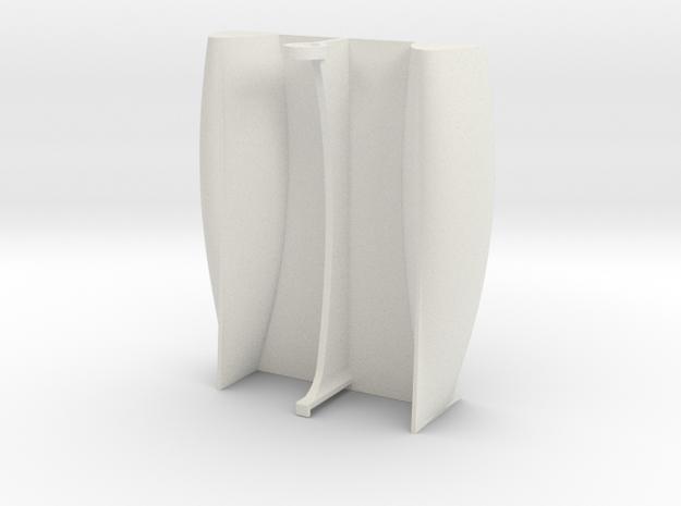 Zippercraft v3 in White Strong & Flexible