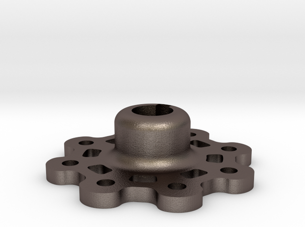 Mid Strength Wheel Hub (17 mm) in Stainless Steel