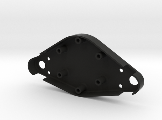 Mclaren Wheel Rear Spacer (Cheaper Solution) in Black Natural Versatile Plastic