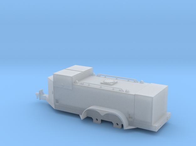 1/64 Fuel Trailer (S Scale) 3d printed