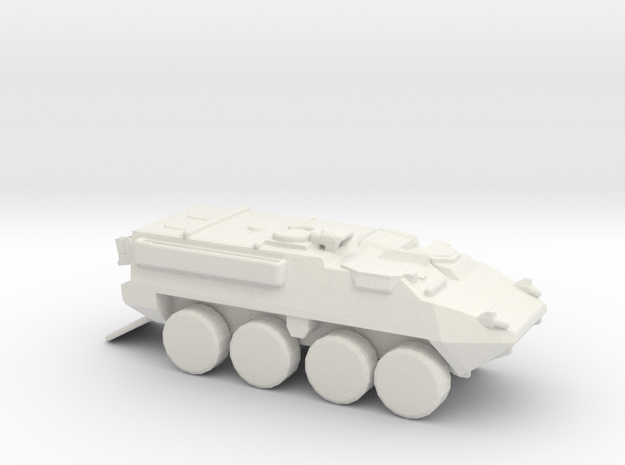 Stryker V! 1-144 scale in White Strong & Flexible
