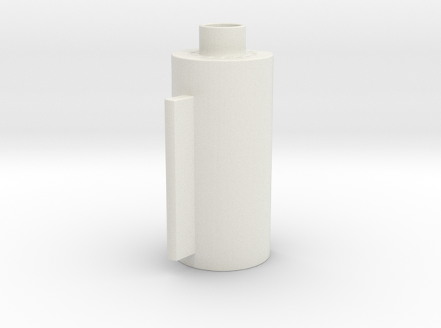 Merr Sonn Barrel in White Natural Versatile Plastic