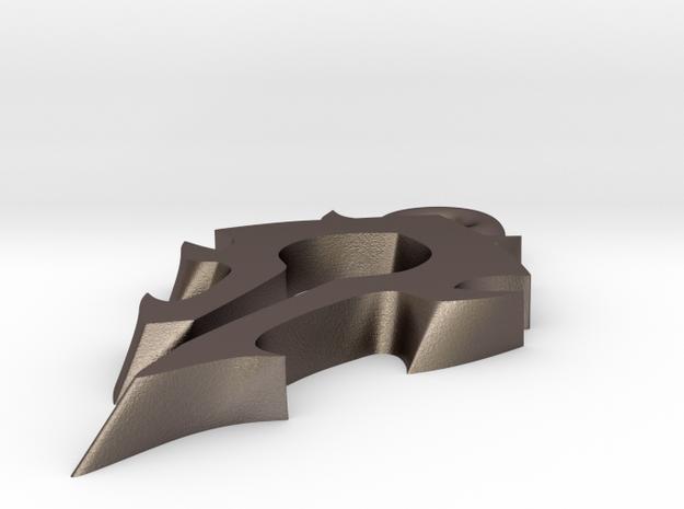 Horde Medallion 3d printed
