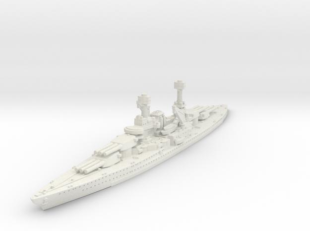 1/1800 USS South Dakota BB (1920) in White Natural Versatile Plastic