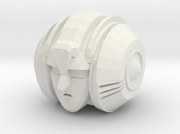 Customatron - Filletron - Sekhmet Head in White Natural Versatile Plastic