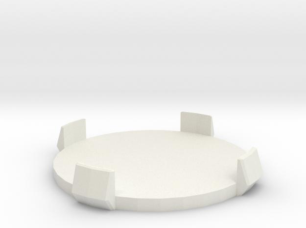 Mini Marker - Large in White Natural Versatile Plastic