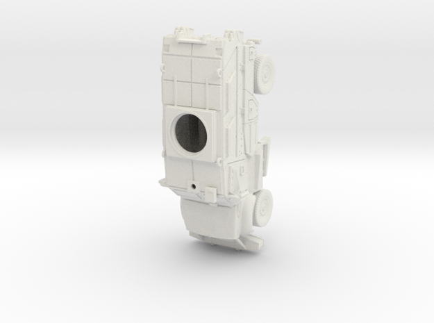 ~1/87 HO maxxpro MRAP in White Natural Versatile Plastic