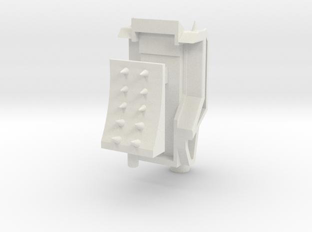 Customatron - Leader Haides - Backpack Kit in White Natural Versatile Plastic