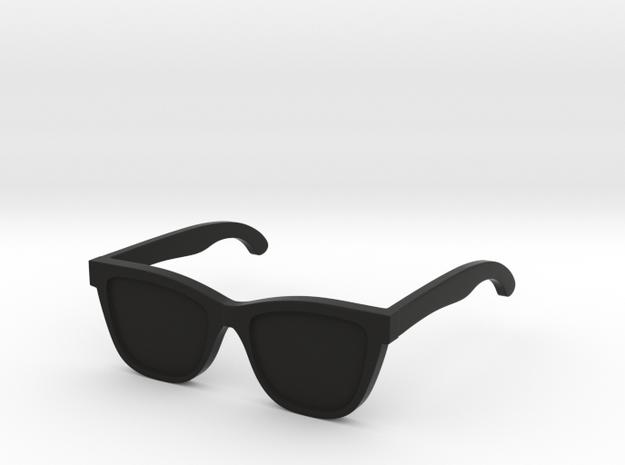 SunGlass2 in Black Natural Versatile Plastic