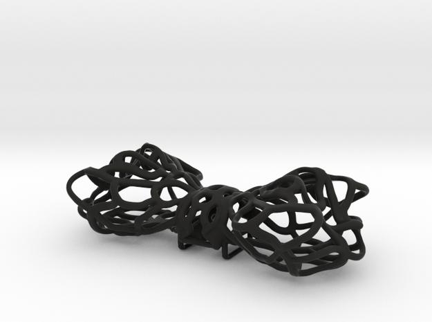 Papillon -Bow tie in Black Strong & Flexible