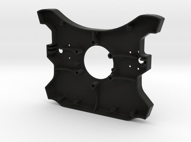 McLaren MP4-12C - Steering Wheel - Rear Enclosure in Black Natural Versatile Plastic