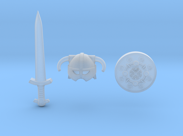 Iron Pack 3d printed