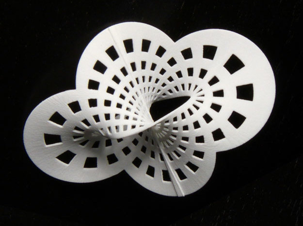 Mystery surface in White Natural Versatile Plastic