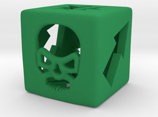 Blood Bowl Block Dice v2 3d printed