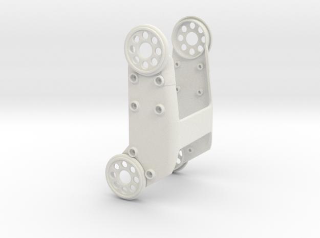 HR-OS1 Orion Femur Armor in White Natural Versatile Plastic