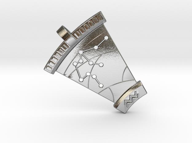 Aquarius Constellation Pendant 3d printed