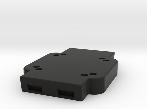 Cradle Adapter for Garmin Zumo 660 in Black Natural Versatile Plastic