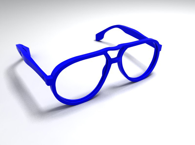 aviator styled glasses - type 4 v1.0 3d printed