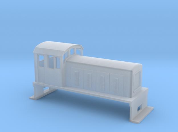 DS Locomotive, New Zealand, (NZ120 / TT, 1:120) 3d printed
