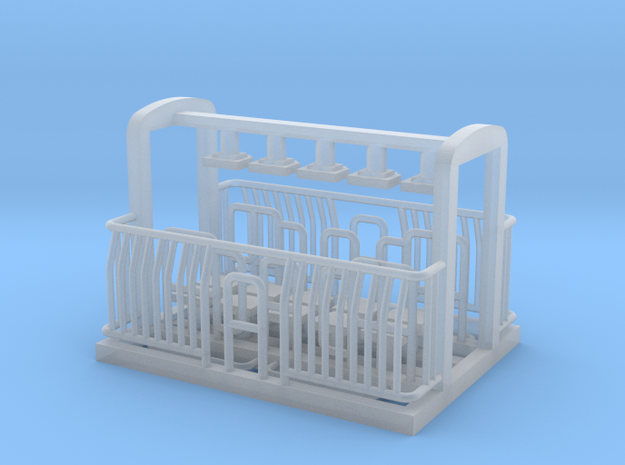 AG/FM Van Handrails, NZ, (OO Scale, 1:76) in Smooth Fine Detail Plastic