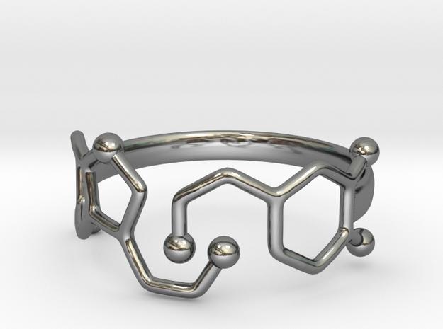 Dopamine Serotonin Molecule Ring Size10