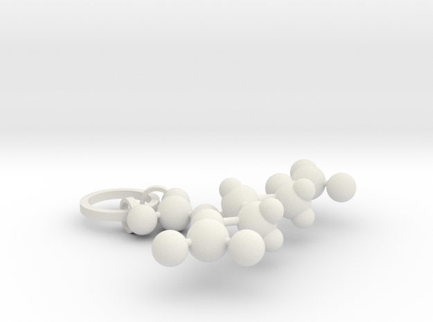 Nitroglycerin(ring added) in White Natural Versatile Plastic