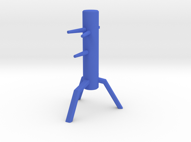 Desktop Mook yan yong in Blue Processed Versatile Plastic