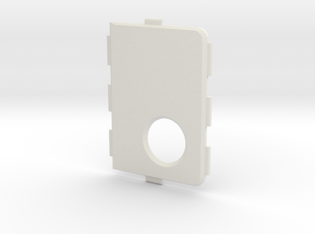 MARK V V4 Cover in White Natural Versatile Plastic