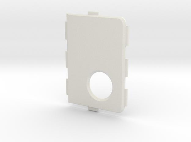 MARK V V4 Cover in White Natural Versatile Plastic