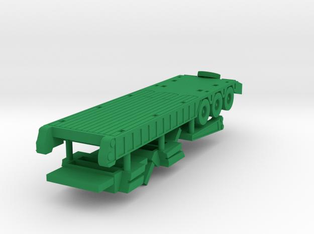 M870A1 Trailer in Green Processed Versatile Plastic: 1:144