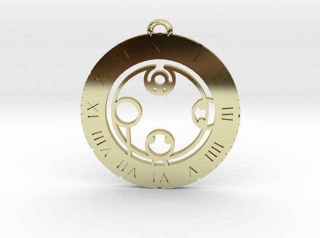 Kayden - Pendant in 18K Gold Plated
