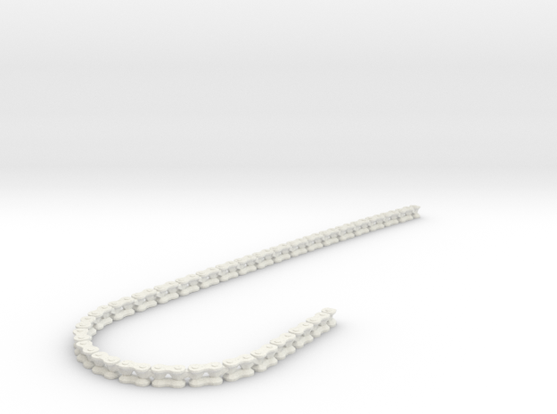 Motor Bike Chain in White Strong & Flexible