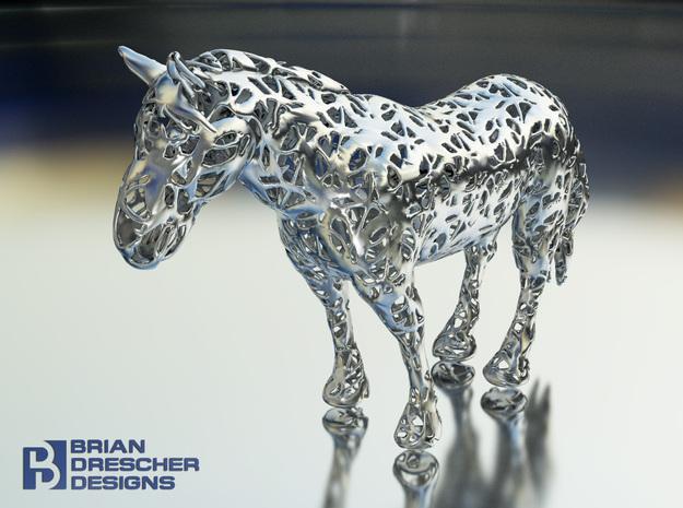 Horse Filigree 3D 3d printed