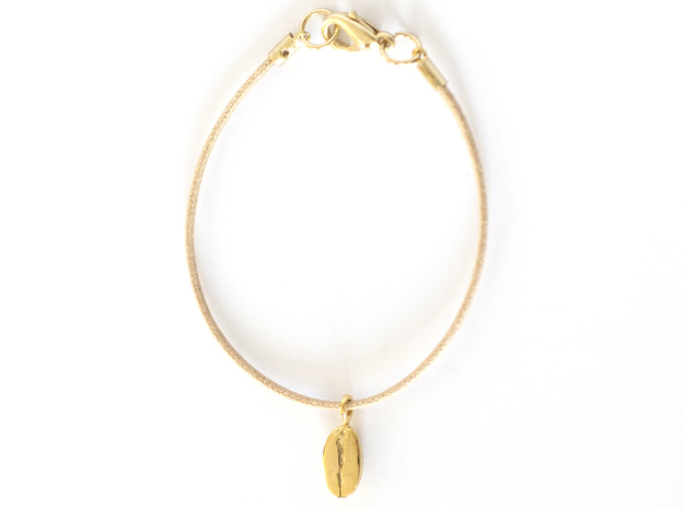 Coffee Bean in 14k Gold Plated