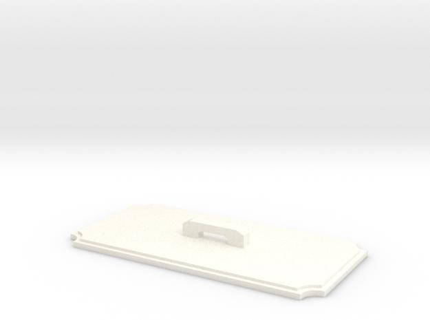 Hammond 1590B Cutout Template Tool in White Processed Versatile Plastic