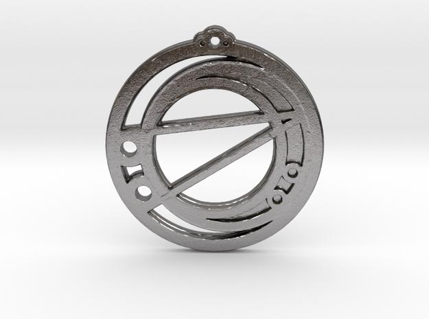 Libra in Polished Nickel Steel