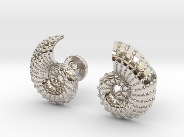 Nautilus Shell Cufflinks