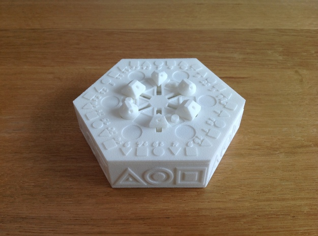 Centrifugal Puzzle Box 3d printed