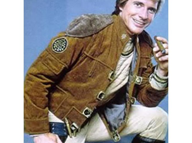 Buckle-L3 3d printed As worn by Dirk Benedict, 1978