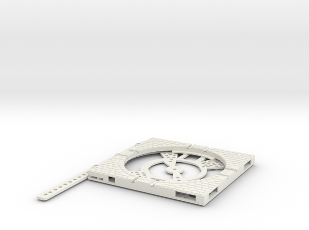 T-165-wagon-turntable-84d-100-plus-base-large-1a in White Natural Versatile Plastic