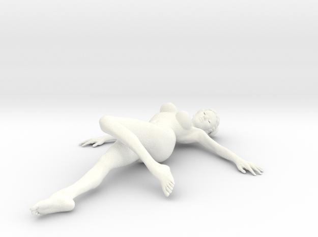 New Girl-CM-006 scale 1/12 Passed in White Processed Versatile Plastic: 1:12