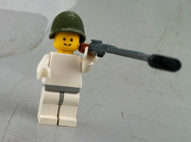 Soviet helmet WWII for lego 3d printed