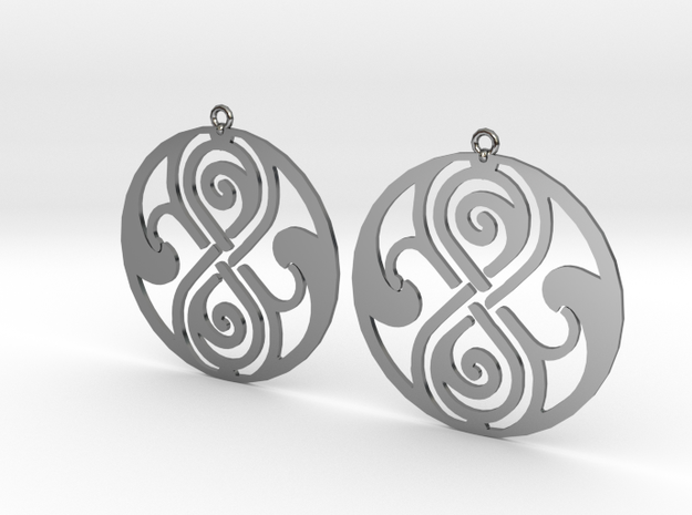 Rassilon - Earrings - Series 1 in Premium Silver