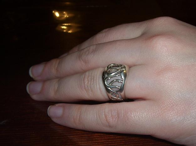 Sylvan Ring 3d printed