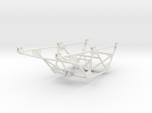 1-25 Katyusha Frame in White Natural Versatile Plastic