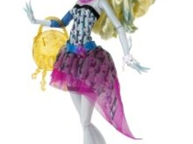 Fin for lagoona blue monster high doll  3d printed
