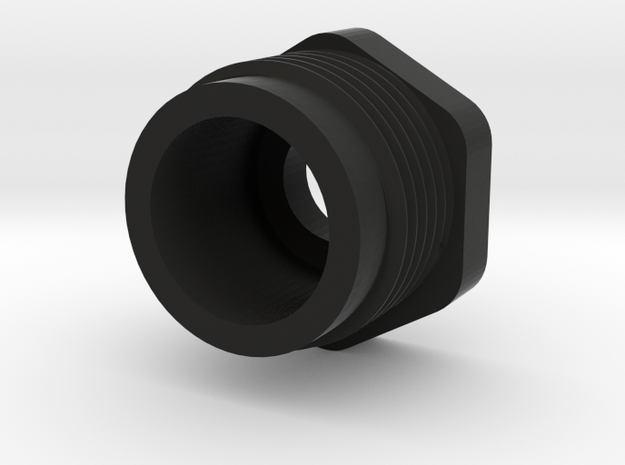 1257 Shock Cylinder Nut in Black Strong & Flexible