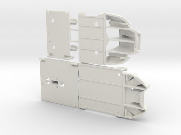 Wrecktifier FEET KIT--V7 in White Natural Versatile Plastic