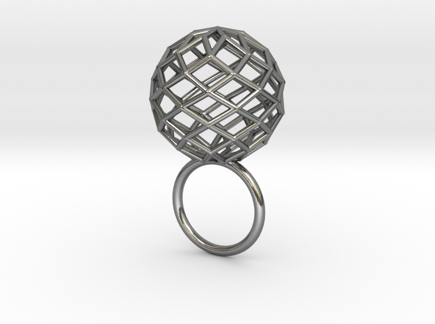 STAR* - straight line made sphere 3d printed
